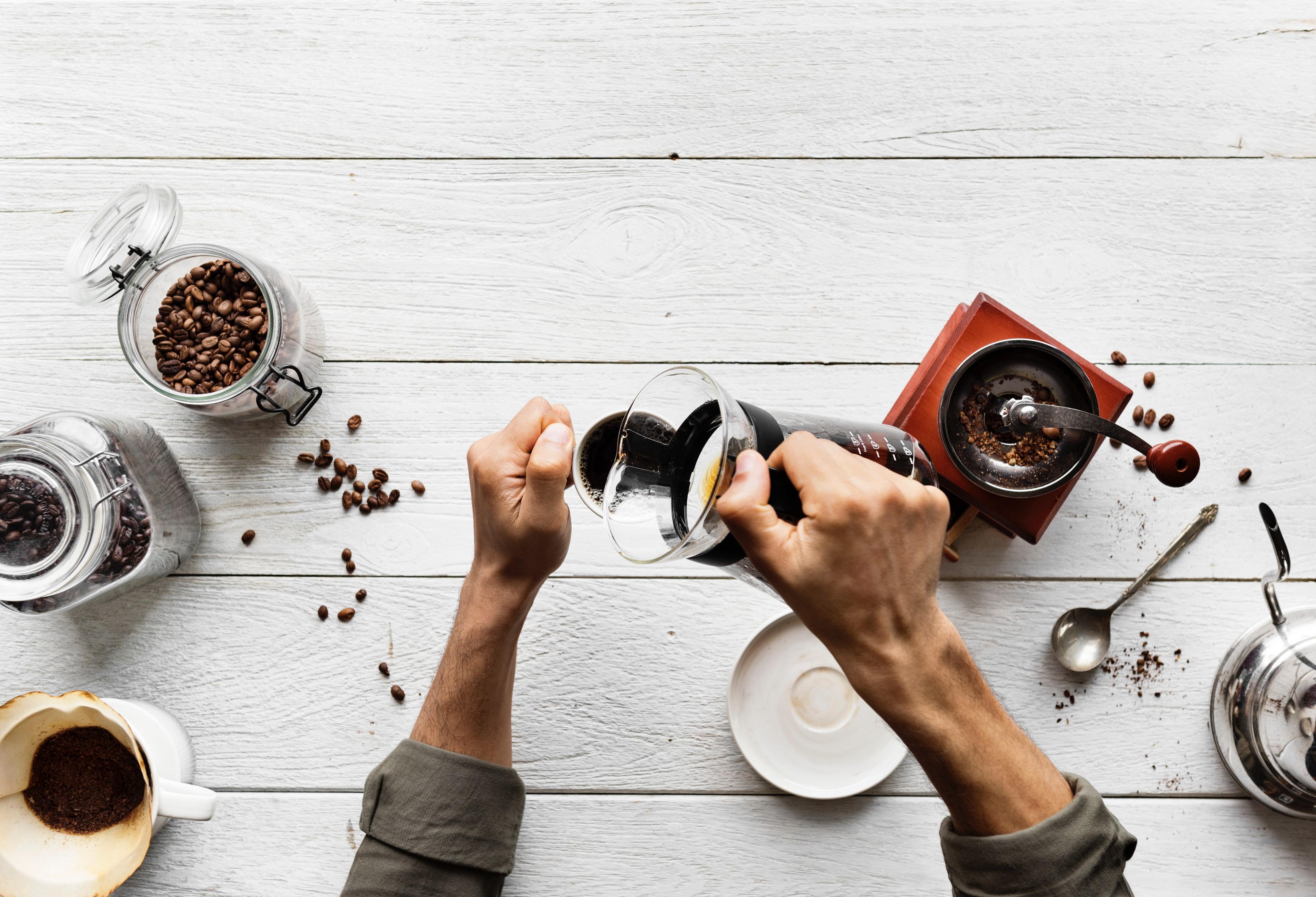 Kahvia voi valmistaa monella tavalla